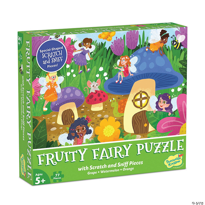 Scratch and Sniff Puzzle: Fruity Fairy Image Thumbnail