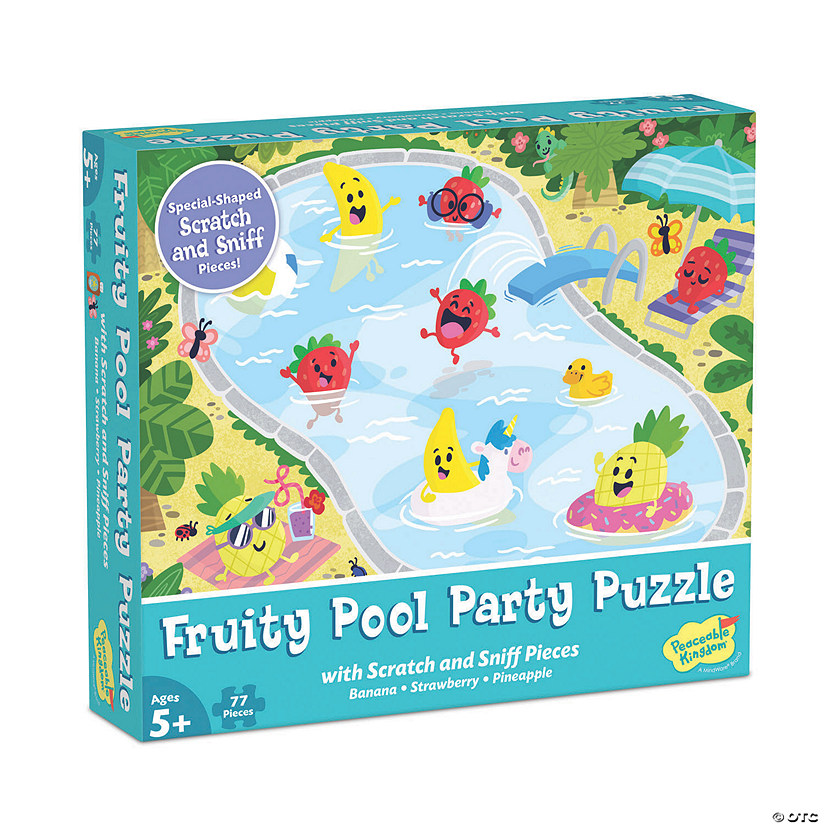 Scratch and Sniff Puzzle: Fruity Pool Party