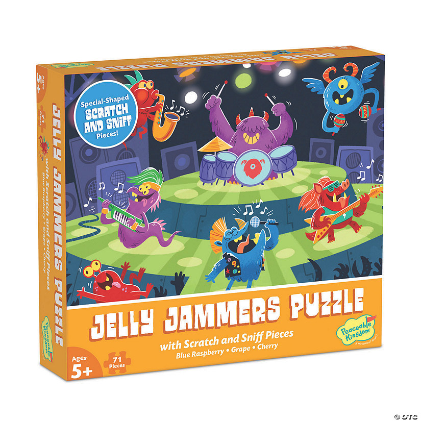 Scratch and Sniff Puzzle: Jelly Jammers Image Thumbnail