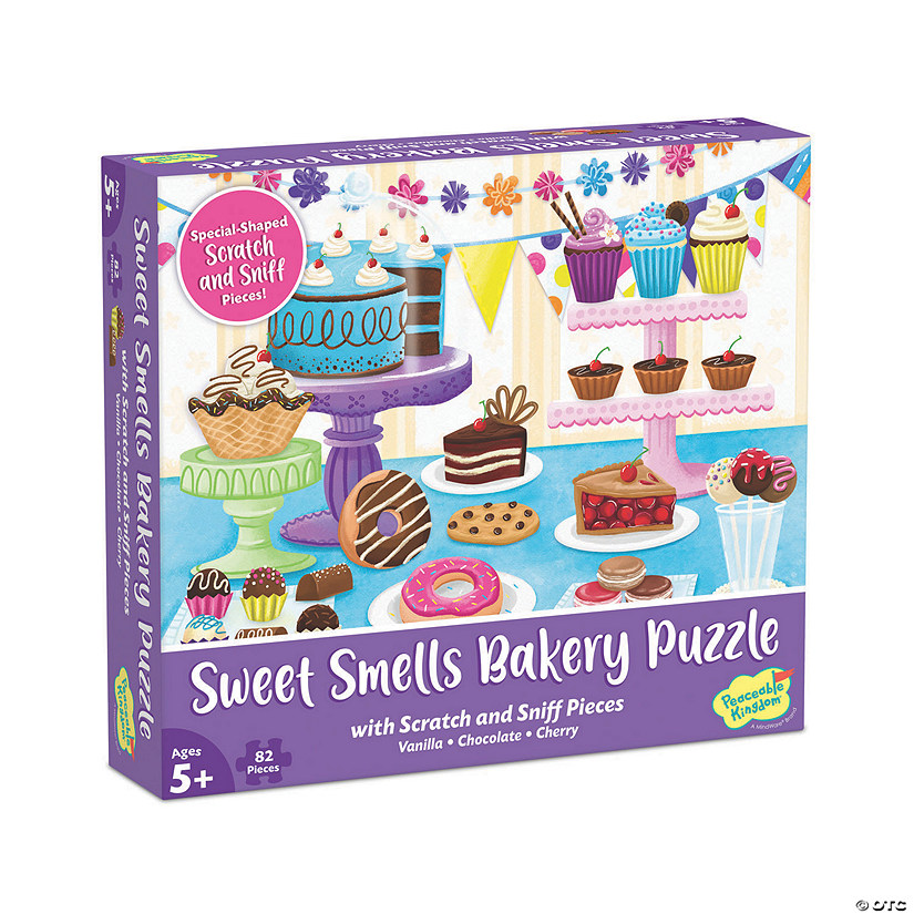 Scratch and Sniff Puzzle: Sweet Smells Bakery Image Thumbnail