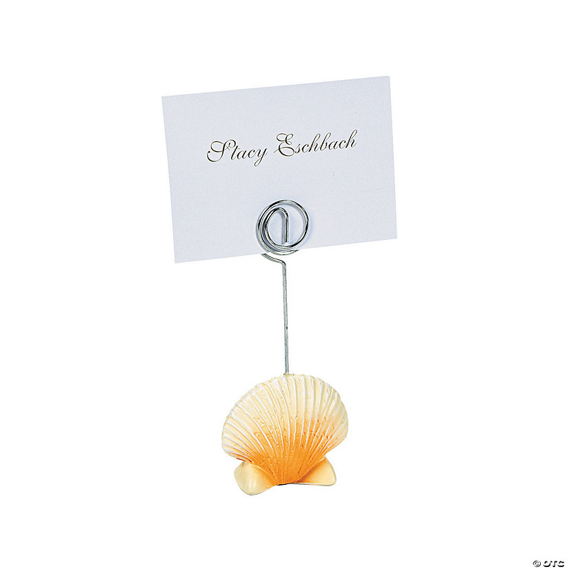 Sea Shell Place Card Holders Audio Thumbnail
