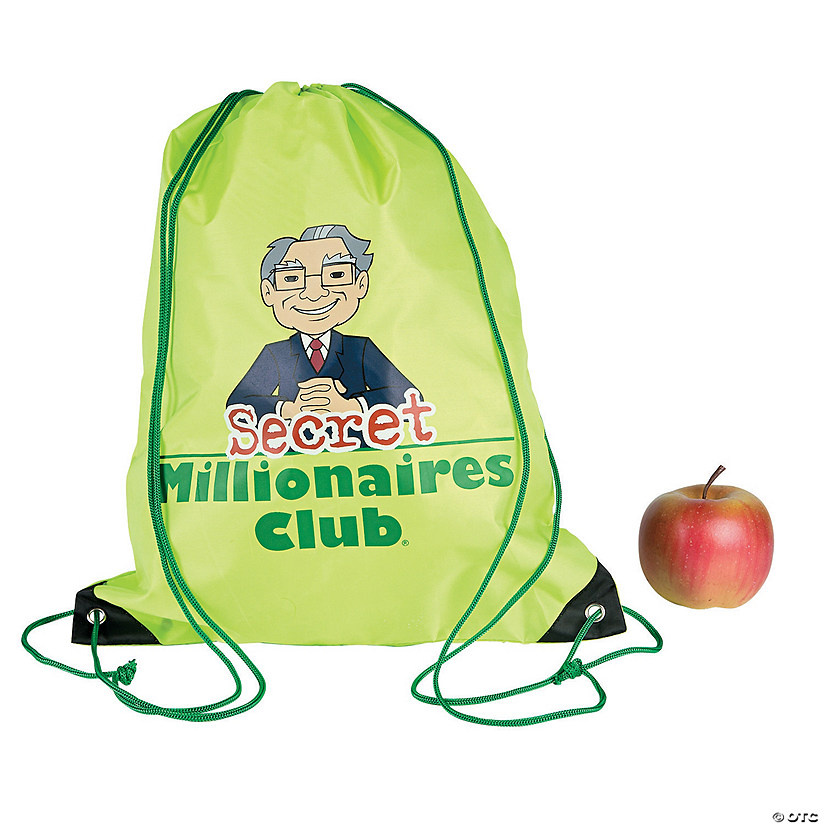 Secret Millionaires Club™ Drawstring Backpacks