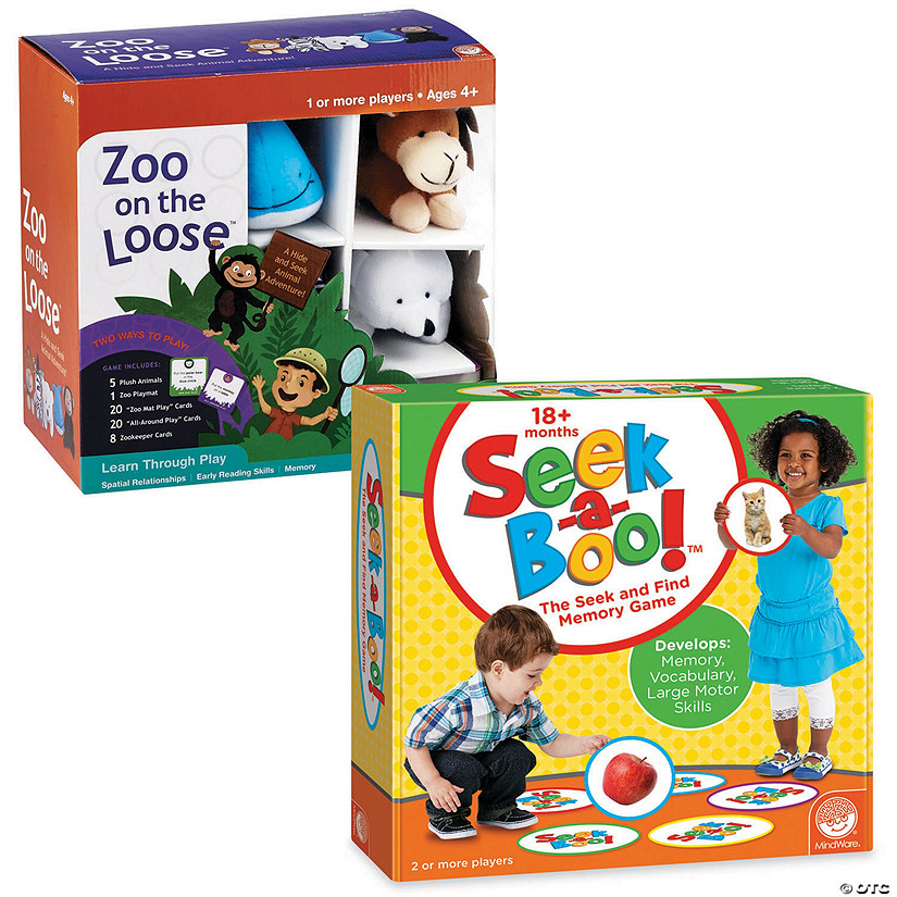 Seek-a-Boo! & Zoo on the Loose: Set of 2 Image Thumbnail