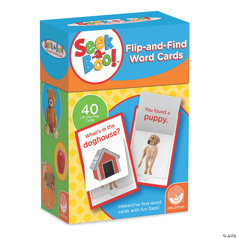 Seek-a-boo Flip-and-Find Word Cards Image Thumbnail