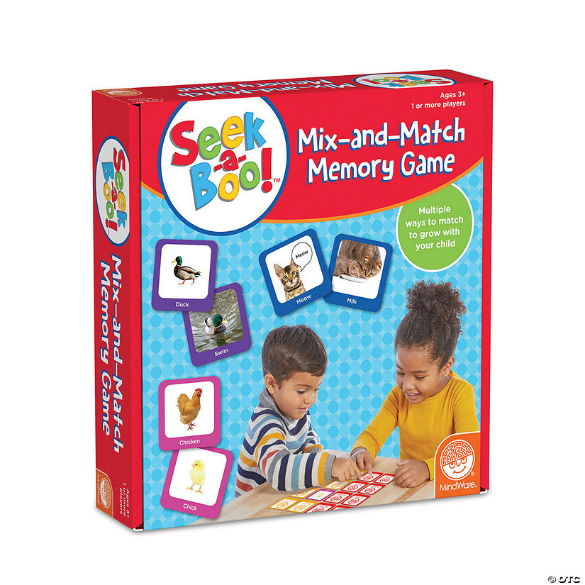 Seek-a-Boo Mix-and-Match Memory Game Image Thumbnail