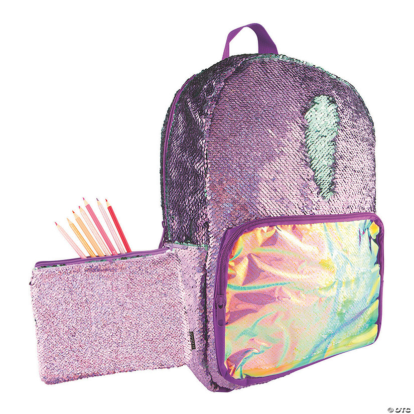 Sequin Backpack with BONUS Pouch Audio Thumbnail
