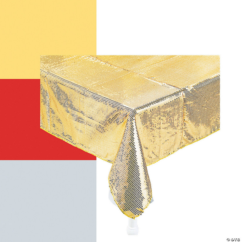 Sequined Tablecloth Image Thumbnail