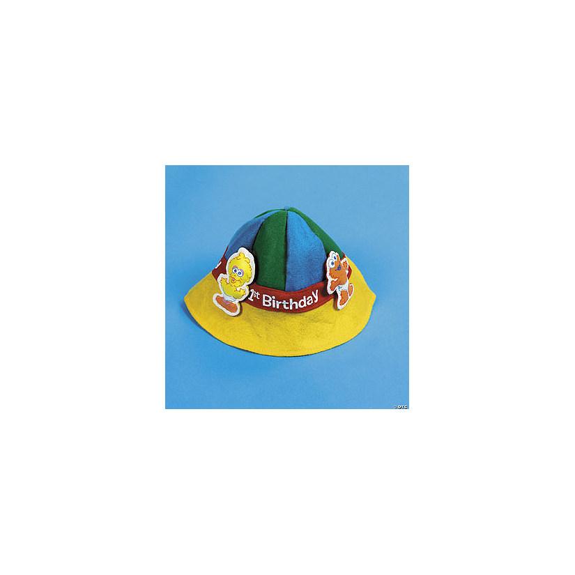 Sesame Street 1st BirthdayTM Hat