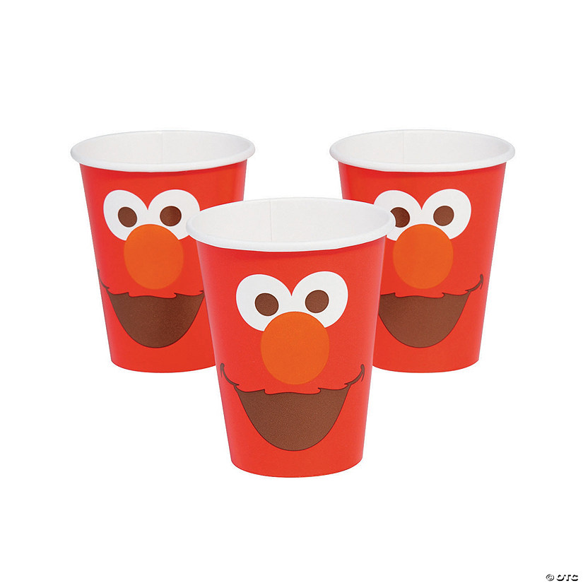 Sesame Street® Elmo Turns One Paper Cups Audio Thumbnail