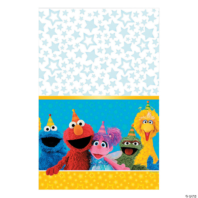 Sesame Street<sup>&#174;  </sup>Plastic Tablecloth Audio Thumbnail