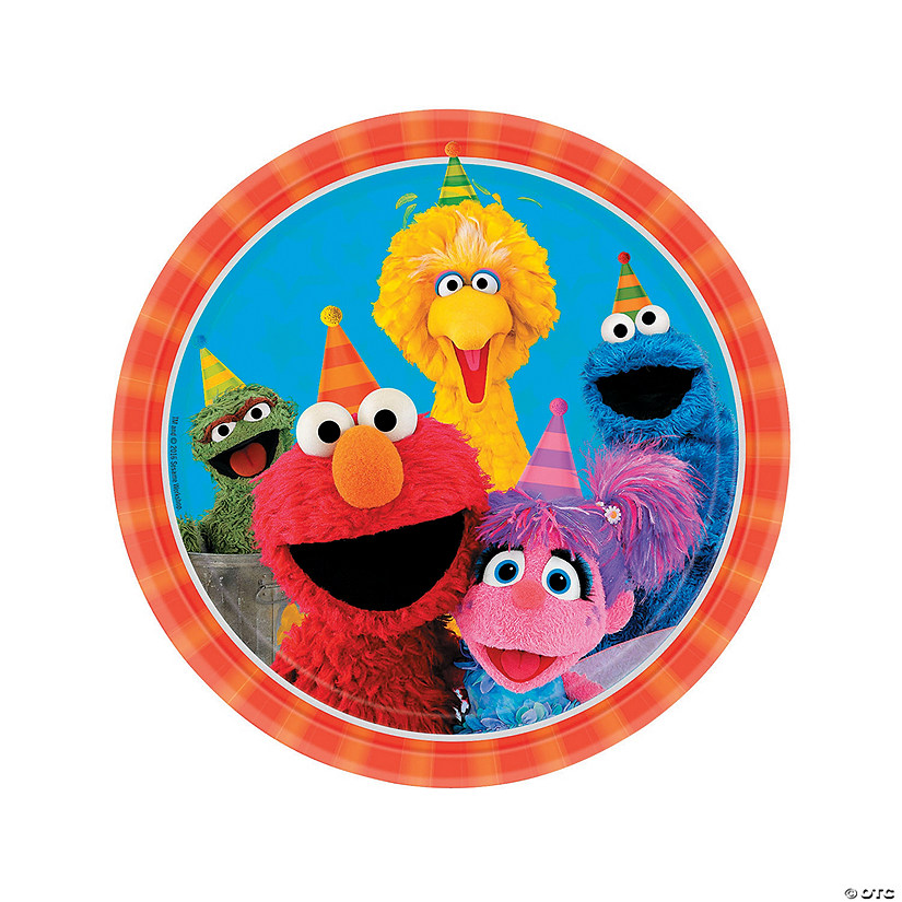 Sesame Street<sup>&#174;</sup> Dinner Plates - 8 Ct. Audio Thumbnail