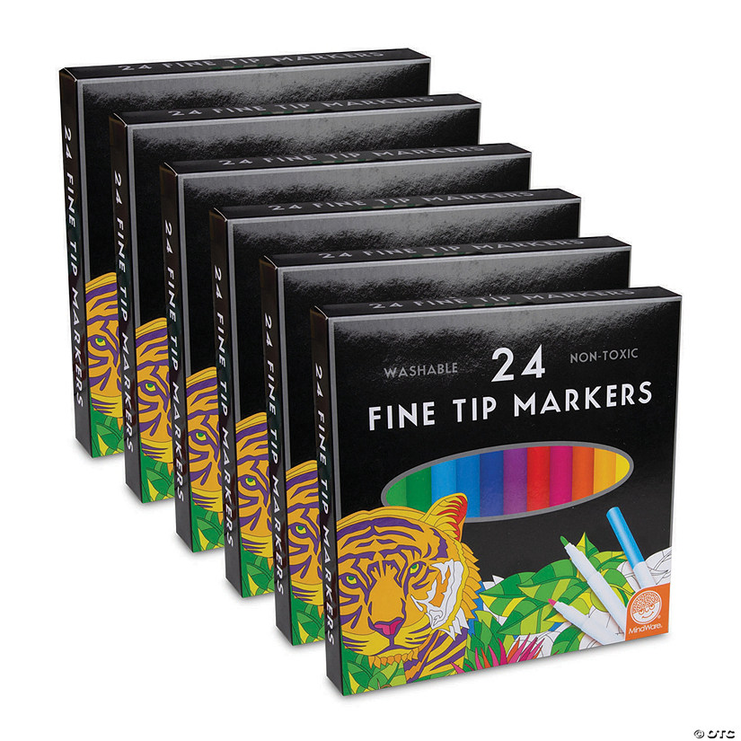 Set of 6 24ct Marker Sets Image Thumbnail