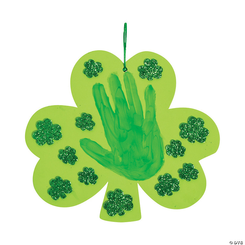 Shamrock Handprint Sign Craft Kit Audio Thumbnail