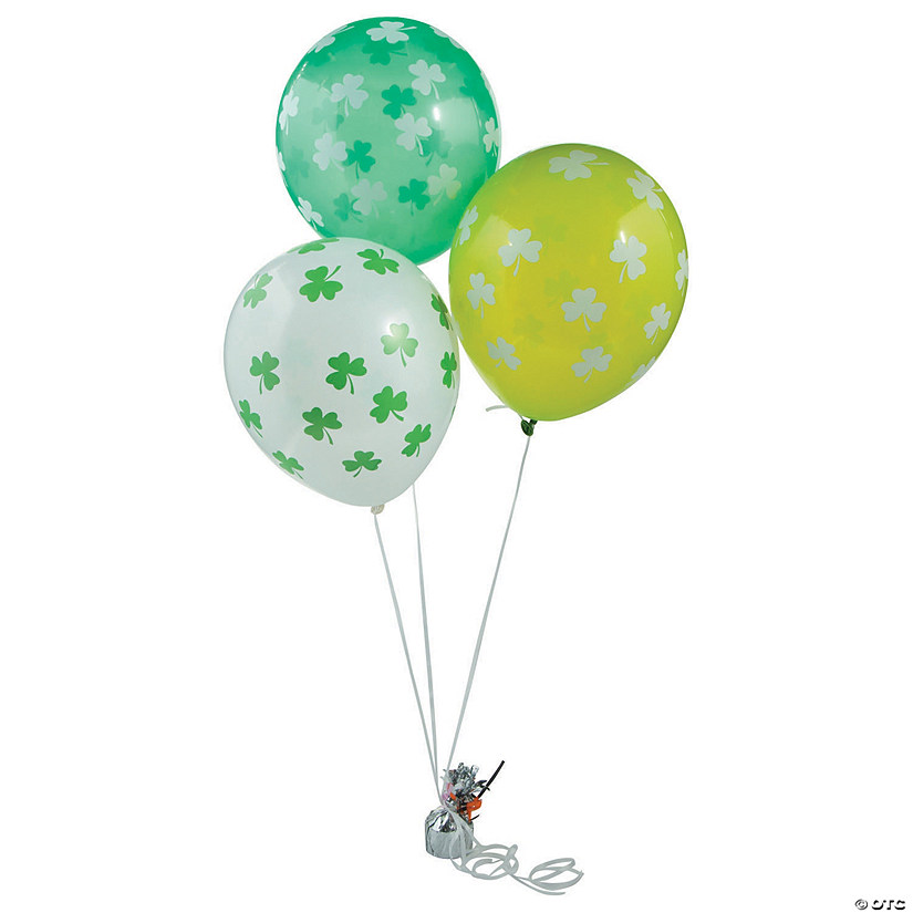 Shamrock Latex Balloons