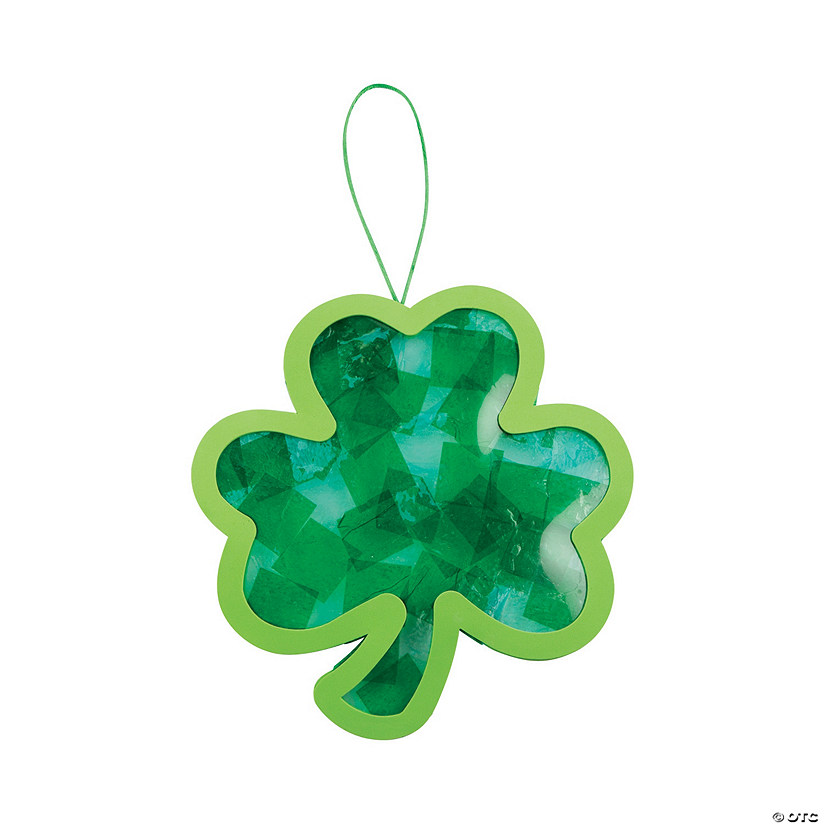 Shamrock Ornament Craft Kit Image Thumbnail
