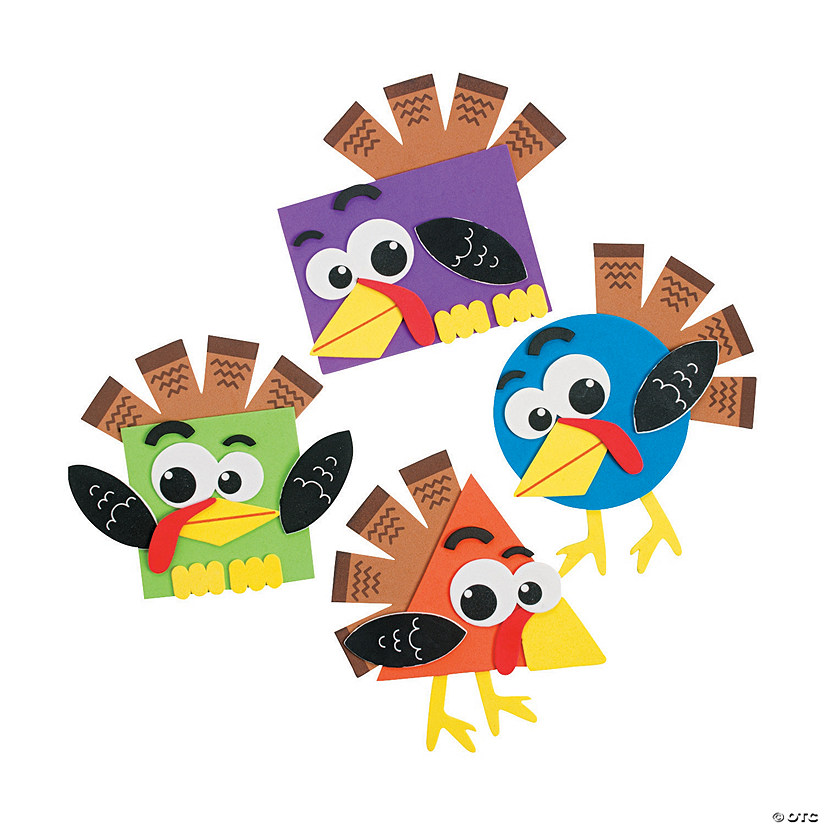 Shape Turkey Craft Kit Audio Thumbnail