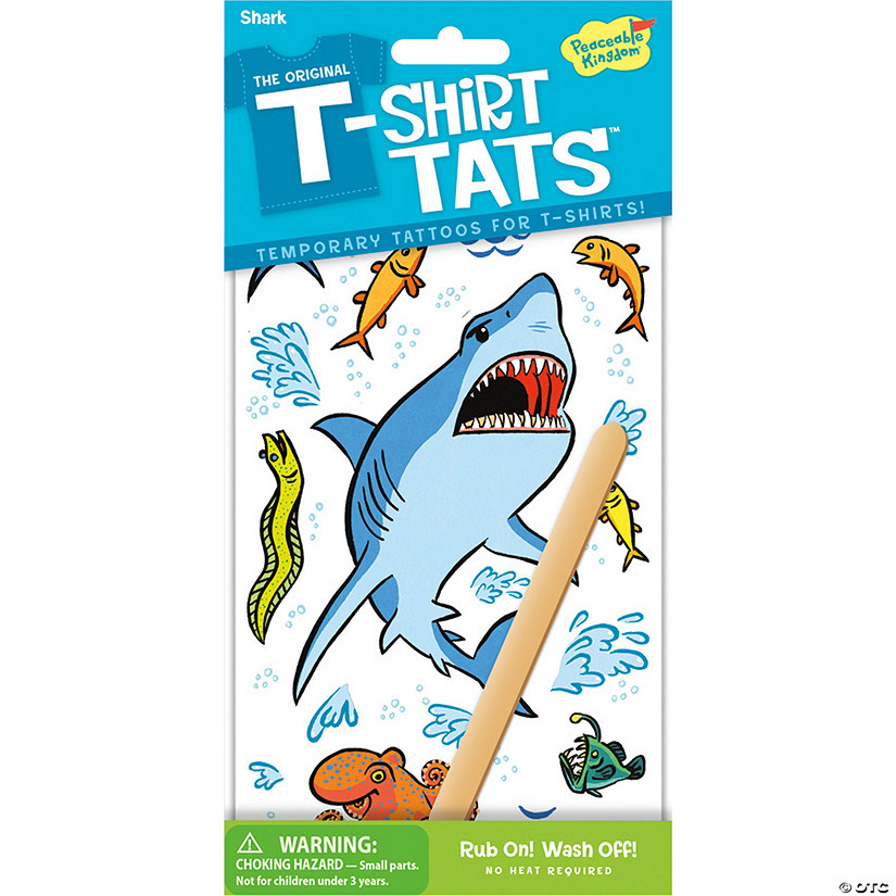 Shark T-Shirt Tats Pack Image Thumbnail