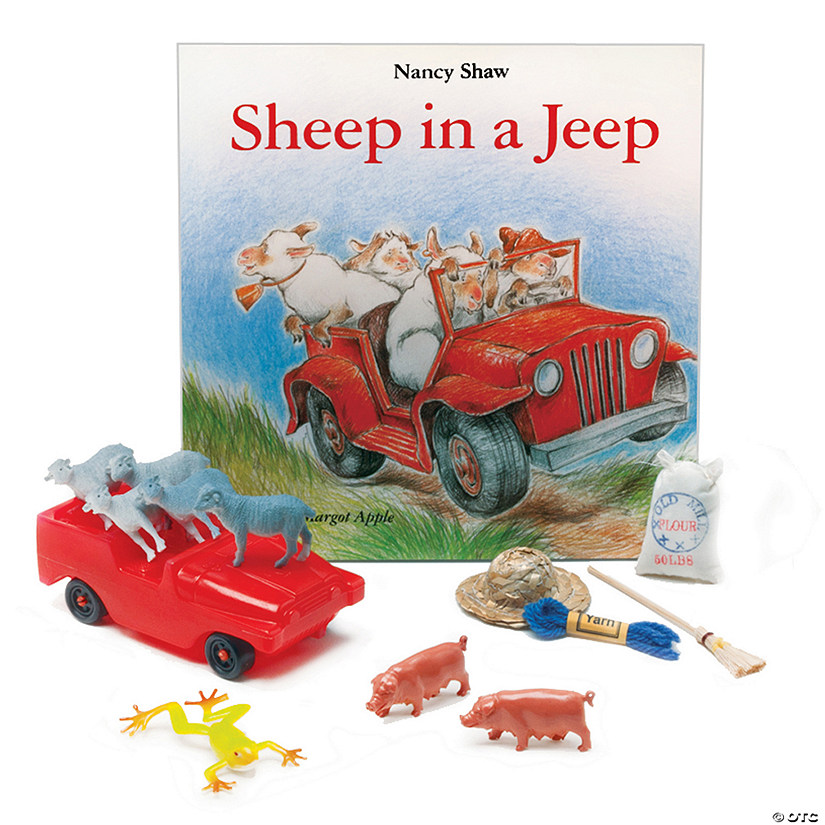 Sheep in a Jeep 3-D Storybook Audio Thumbnail