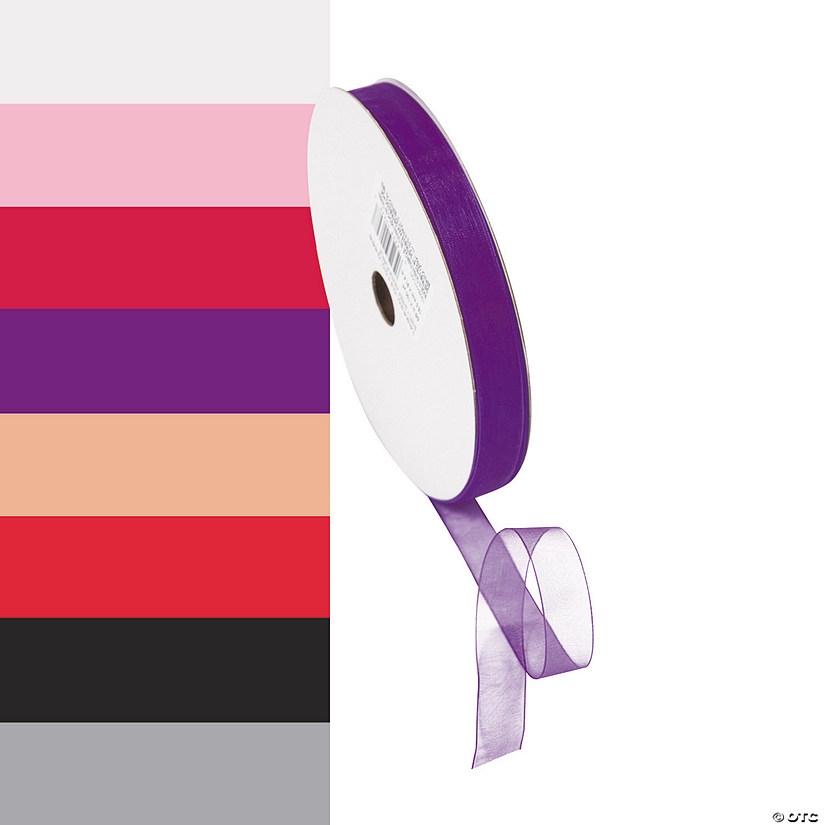 "Sheer Ribbon - 5/8"" Image Thumbnail"
