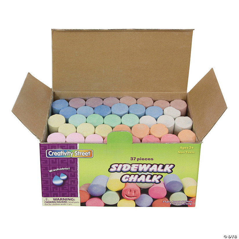 Sidewalk Chalk Assortment Image Thumbnail