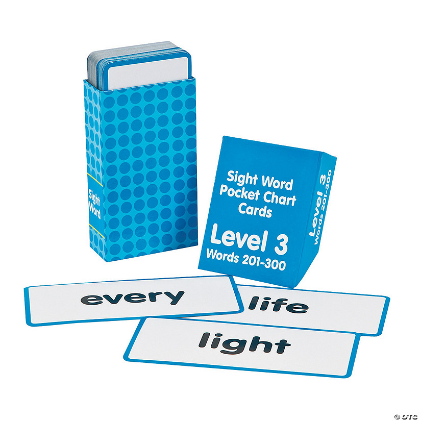 Sight Words Pocket Chart Cards - Level 3 Audio Thumbnail