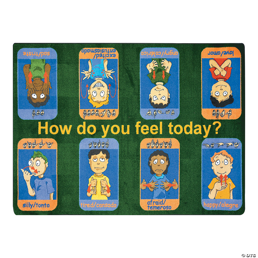 Signs Of Emotions® Classroom Rug Audio Thumbnail