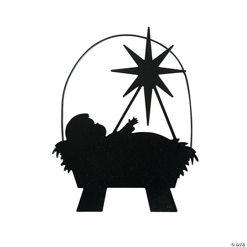 Silhouette Manger Ornaments Audio Thumbnail