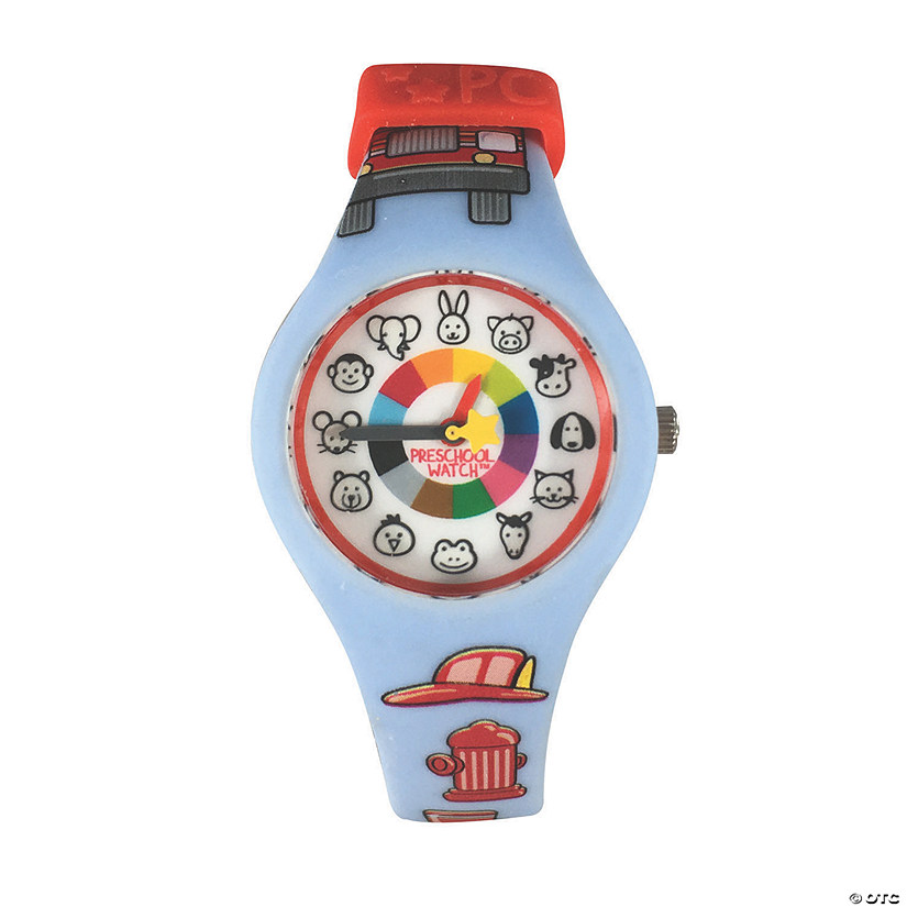 Silicone Preschool Watch Firefighter Audio Thumbnail