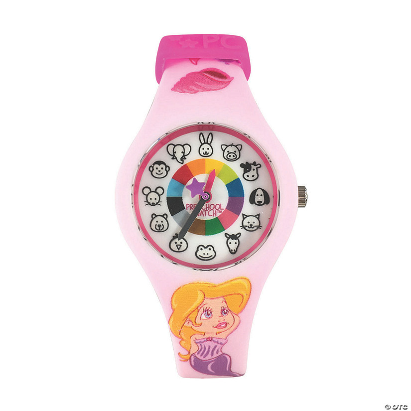 Silicone Preschool Watch Mermaid Image Thumbnail