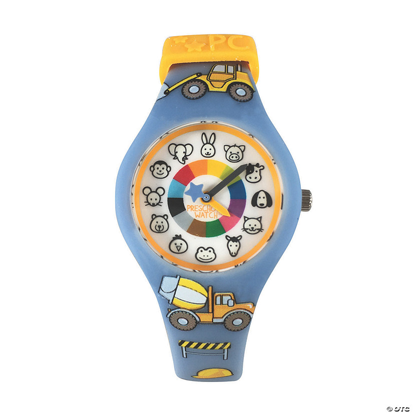 Silicone Preschool Watch Trucks