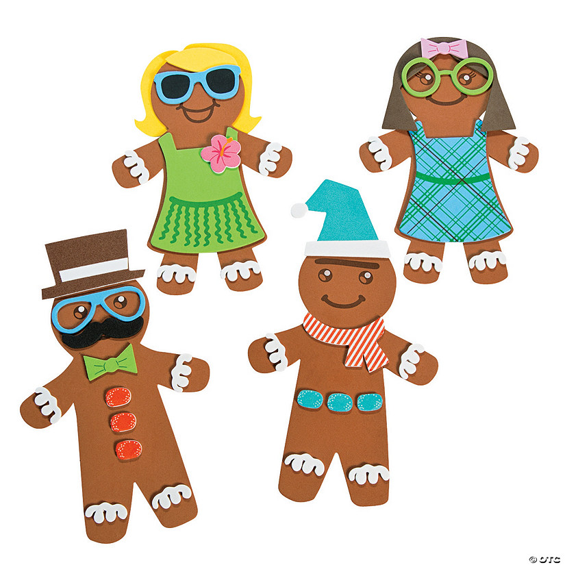 Silly Gingerbread Magnet Craft Kit Audio Thumbnail