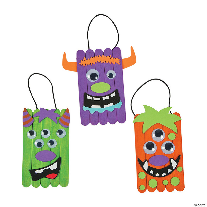 Silly Monster Banner Craft Kit Audio Thumbnail