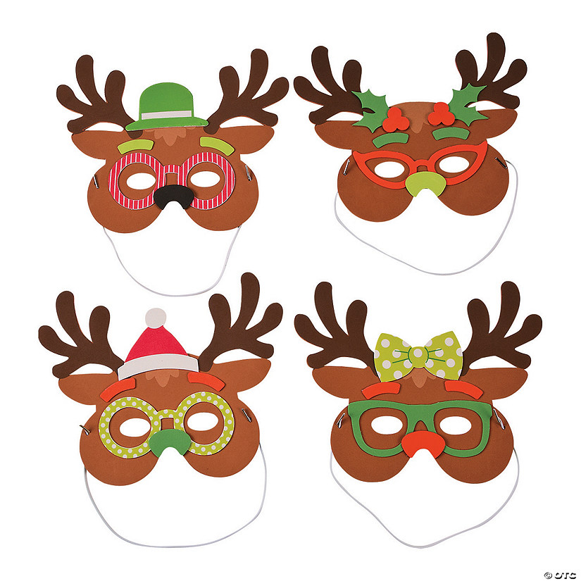 Silly Reindeer Mask Craft Kit Audio Thumbnail