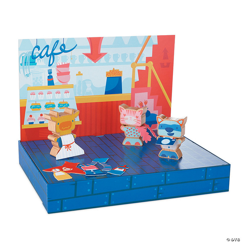 Silly Street Character Builders Playset
