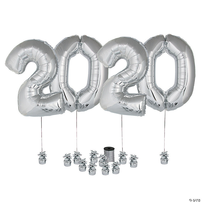 Silver 2020 Balloon 17 Piece Kit Audio Thumbnail