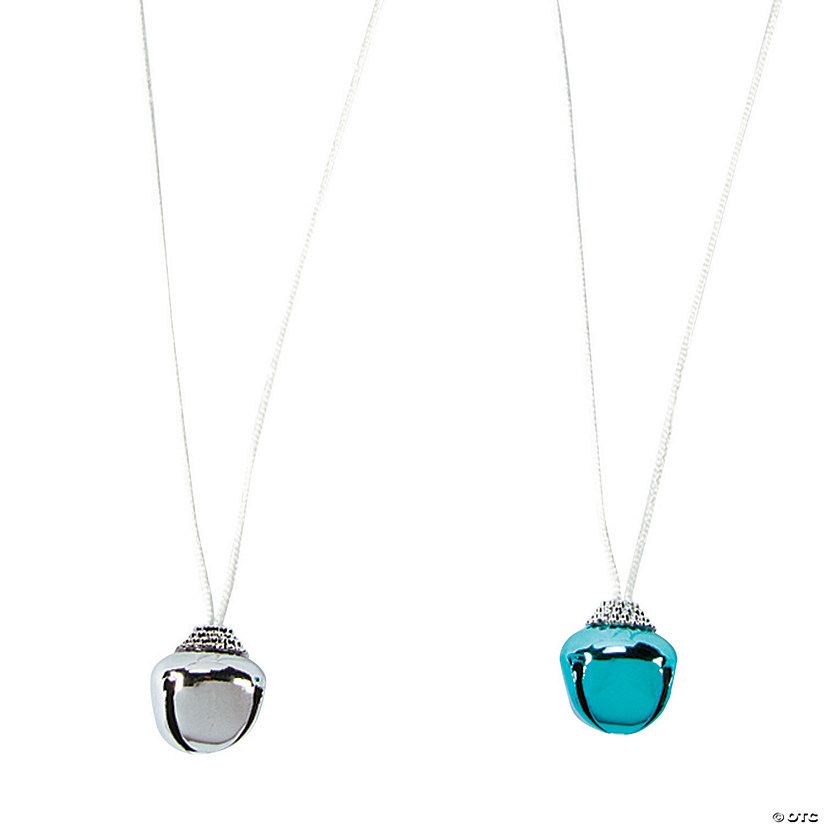Silver & Blue Jingle Bell Necklaces Audio Thumbnail