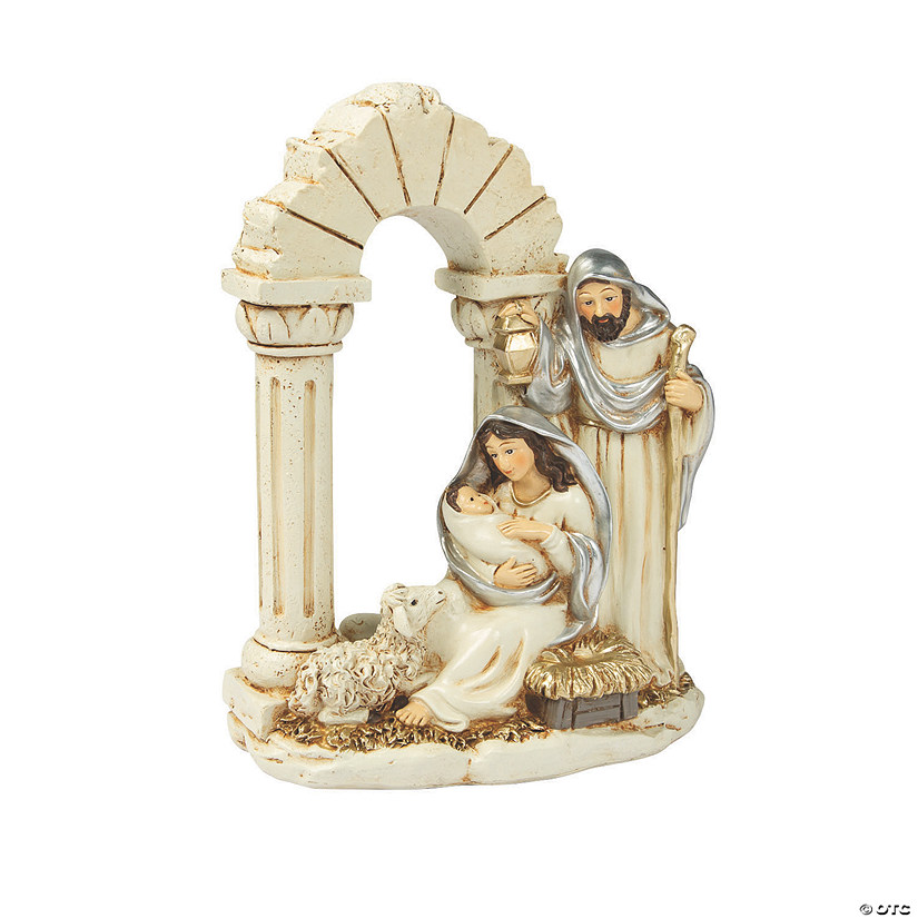 Silver & Gold Nativity Figurine Audio Thumbnail