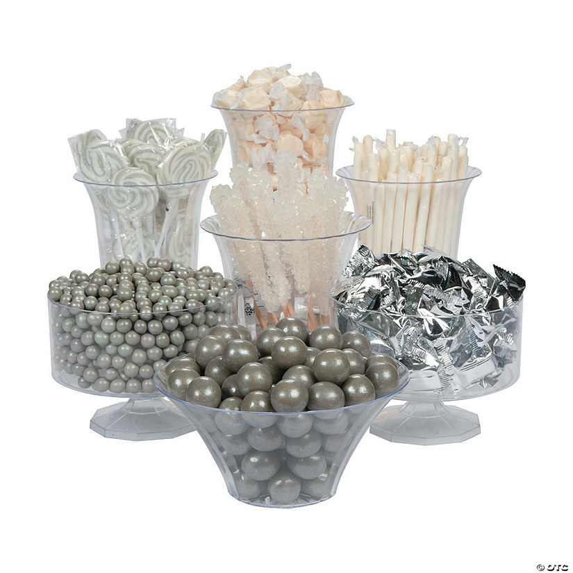 Silver & White Candy Buffet Assortment Audio Thumbnail