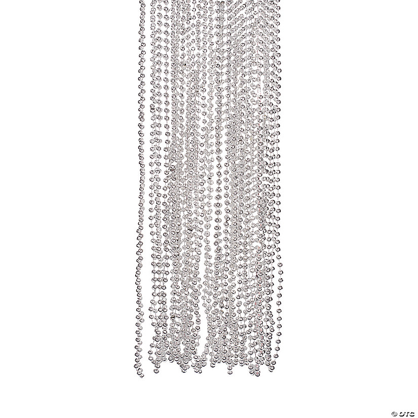 Silver Beaded Necklaces Image Thumbnail