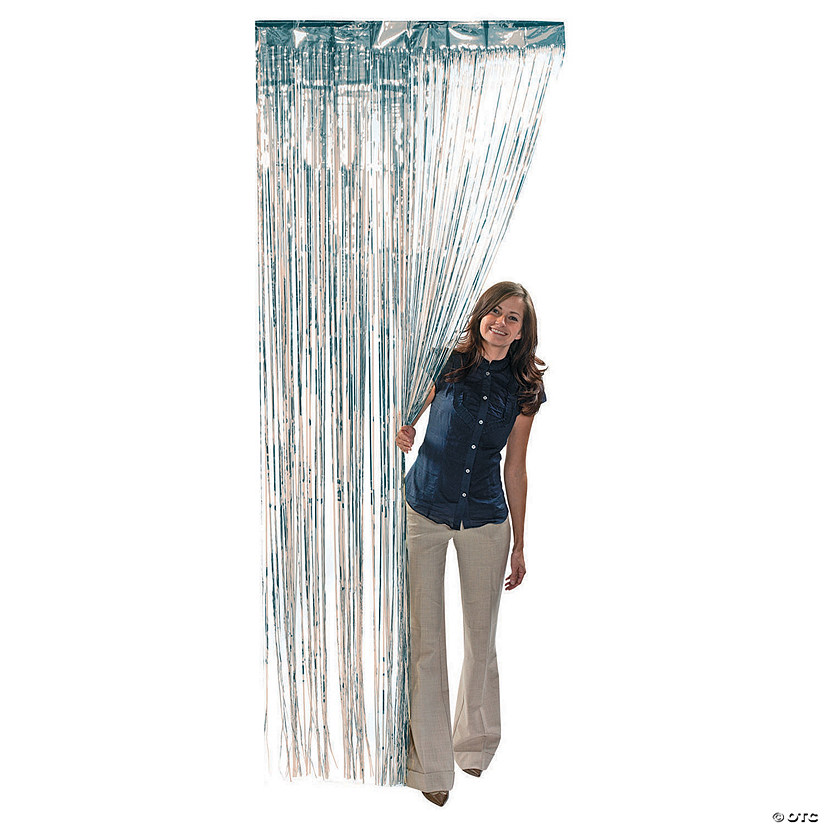 Silver Foil Fringe Curtain Audio Thumbnail