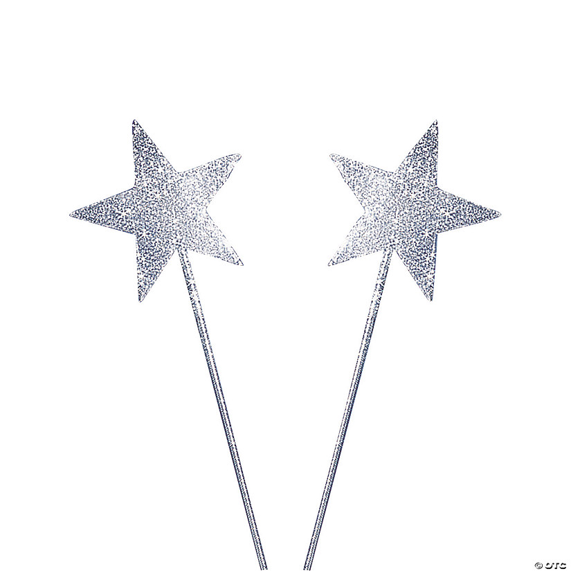 Silver Glittery Star Wands Audio Thumbnail