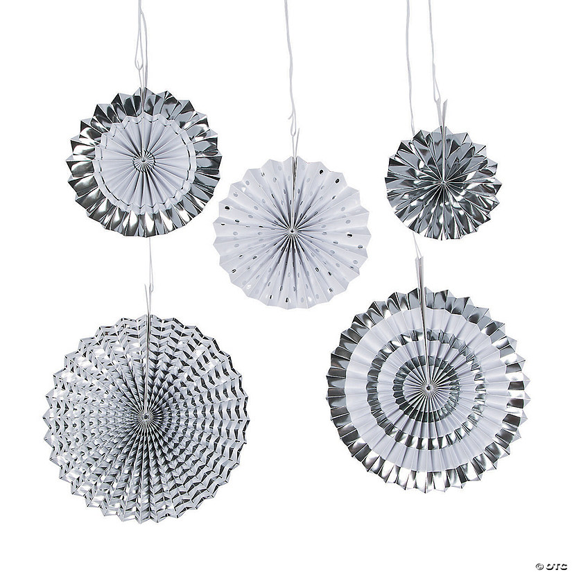 Silver Hanging Fan Assortment Audio Thumbnail