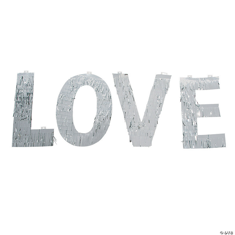 Silver Love Wall Decoration