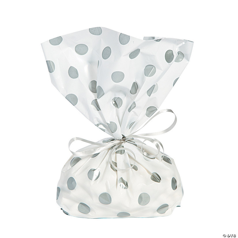 Silver Polka Dot Cellophane Bags Audio Thumbnail