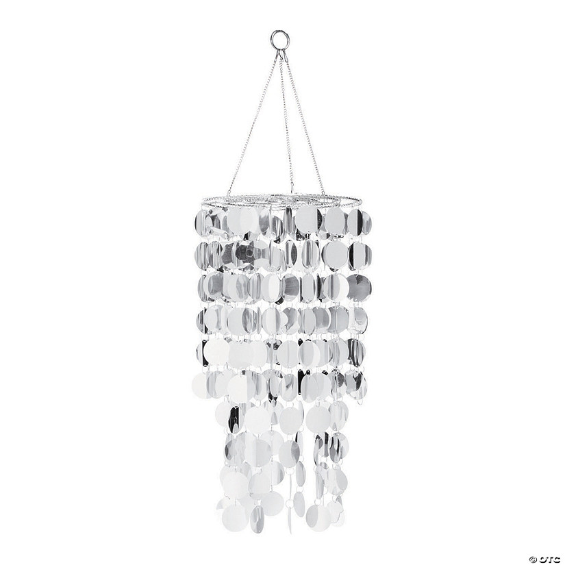 Silver Reflective Hanging Chandelier Audio Thumbnail