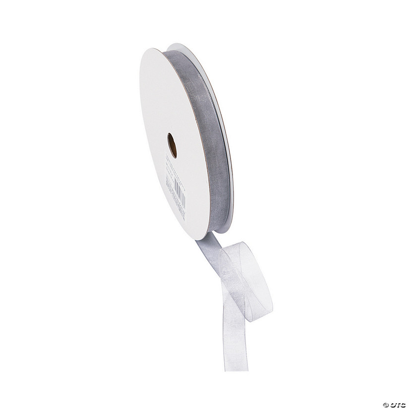 "Silver Sheer Ribbon - 5/8"" Audio Thumbnail"