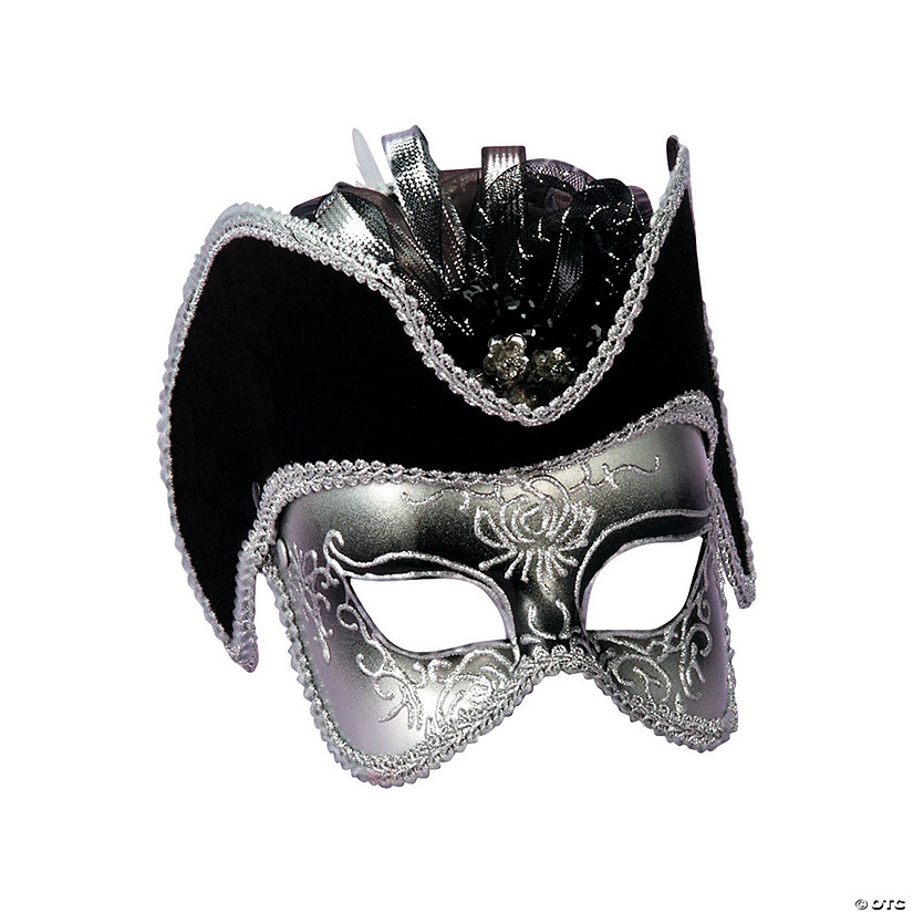 Silver Venetian Mask Audio Thumbnail