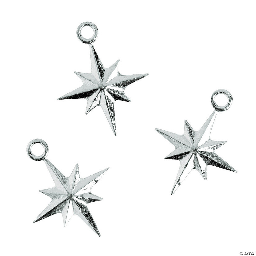 Silvertone North Star Charms - 20mm Audio Thumbnail