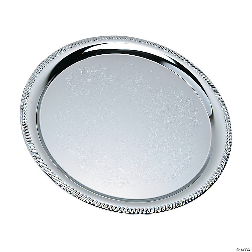 Silvertone Round Serving Tray Audio Thumbnail