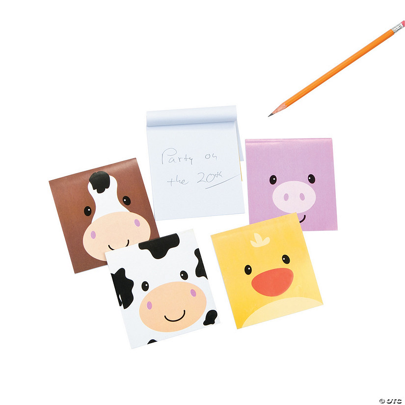 Simple Face Farm Animal Character Notepads Audio Thumbnail